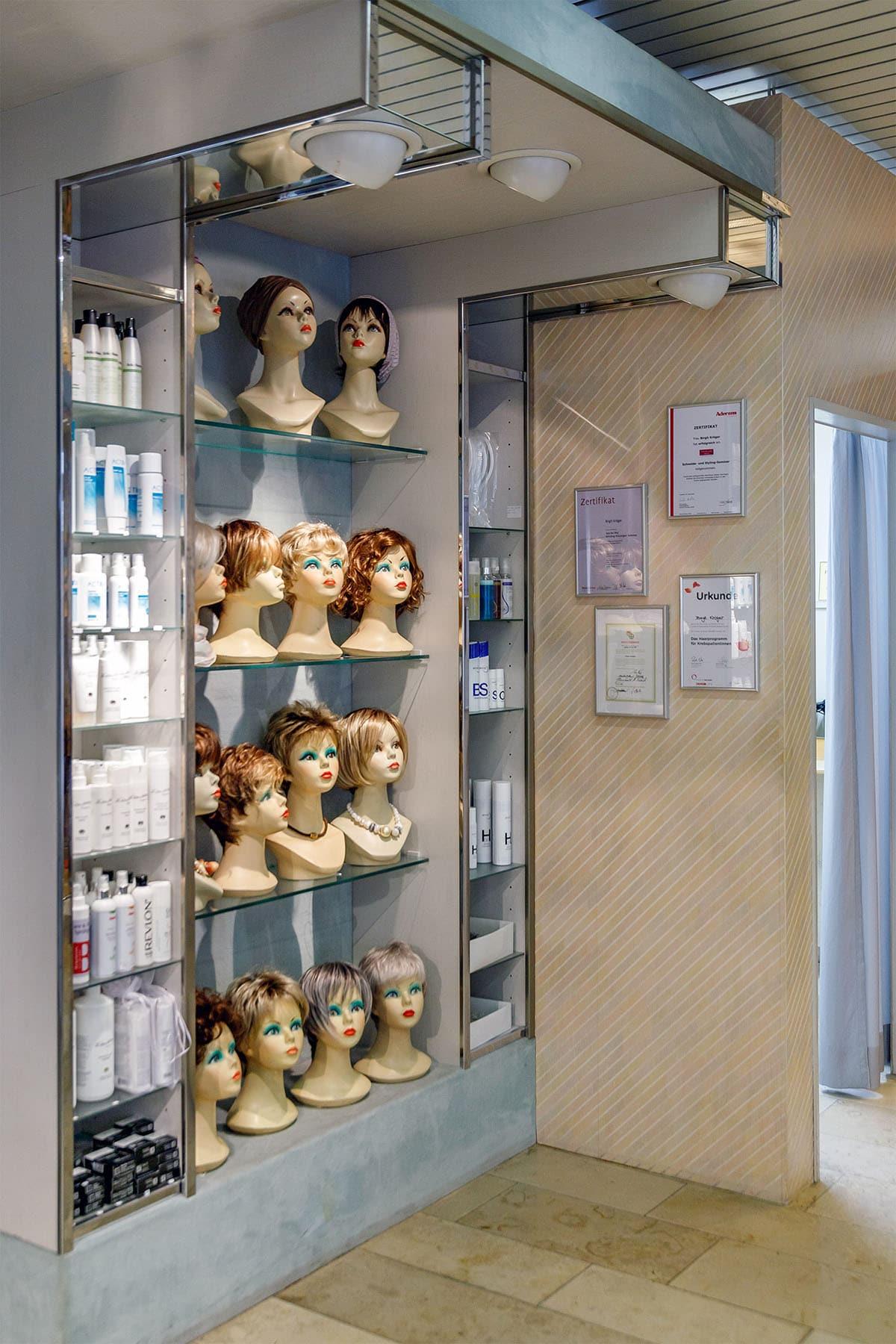 Haarstudio Die Perücke Hannover Innenansicht